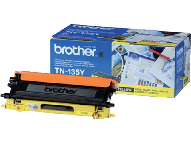 TONER BROTHER TN-135 4K GEEL