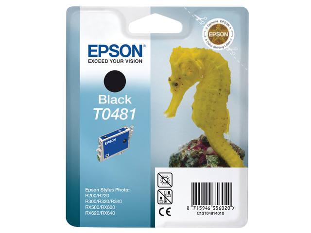 INKCARTRIDGE EPSON T048140 ZWART 1