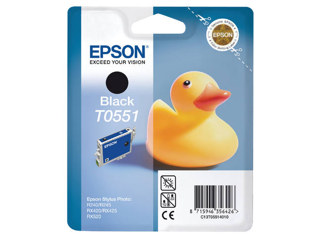 INKCARTRIDGE EPSON T055140 ZWART