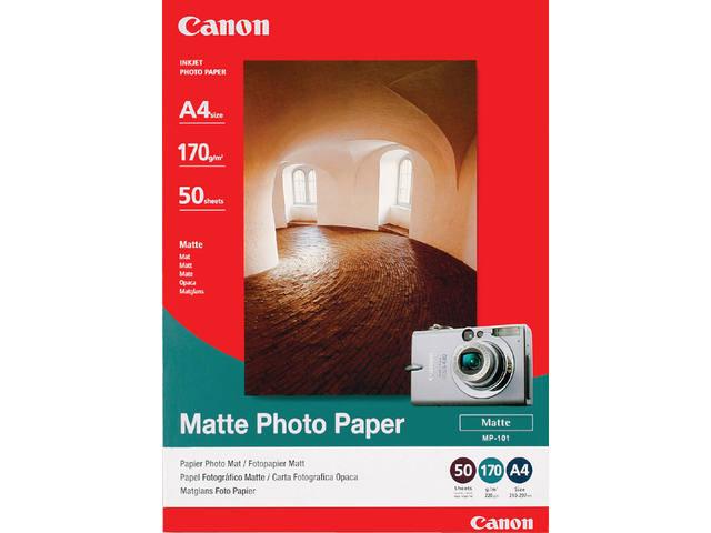 FOTOPAPIER CANON MP-101 A4 170GR MAT