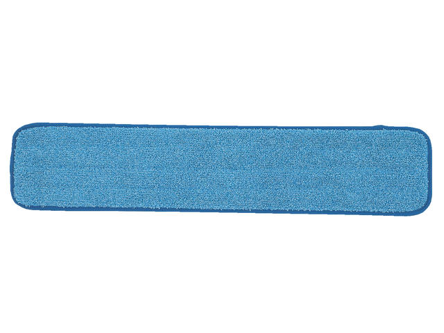 VLAKMOP MICROVEZEL MET POCKETS 43.5X14CM BLAUW