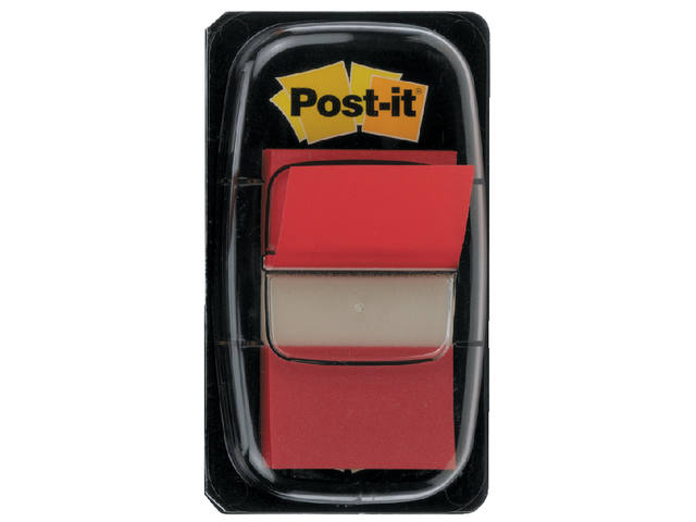 INDEXTABS 3M POST-IT 6801 25MM ROOD