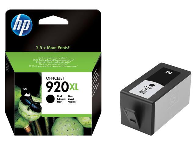 INKCARTRIDGE HP 920XL CD975AE HC ZWART