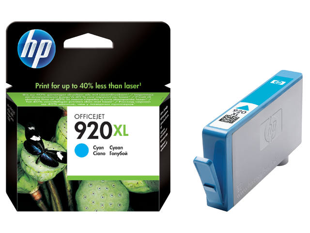 INKCARTRIDGE HP 920XL CD972AE HC BLAUW